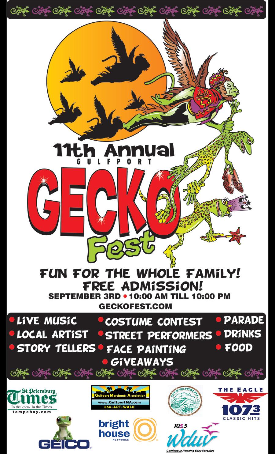 GeckoFest 2011 Flyer
