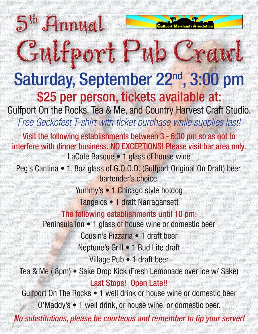 GeckoFest Pub Crawl 2012