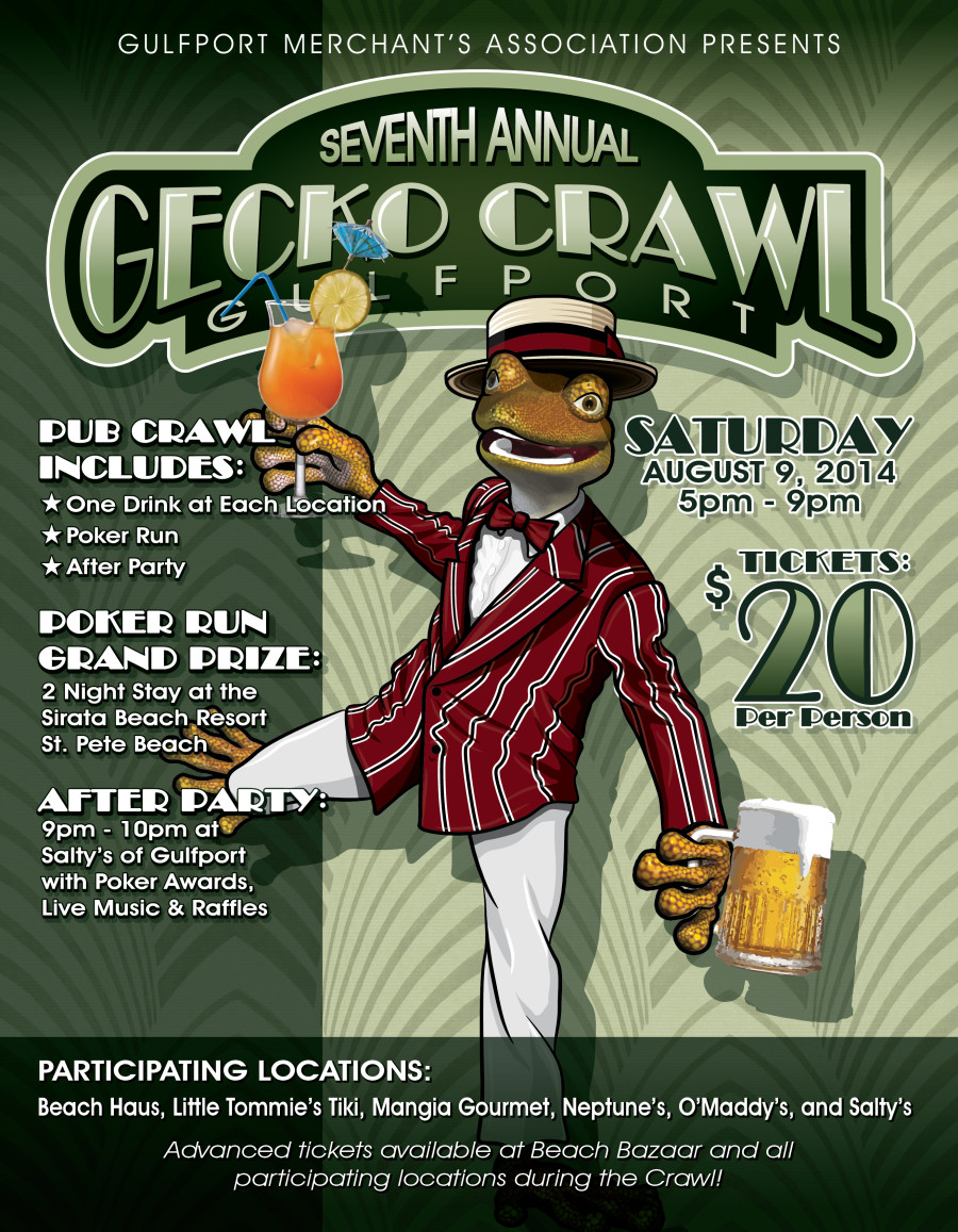 7th Annual Gecko Pub Crawl