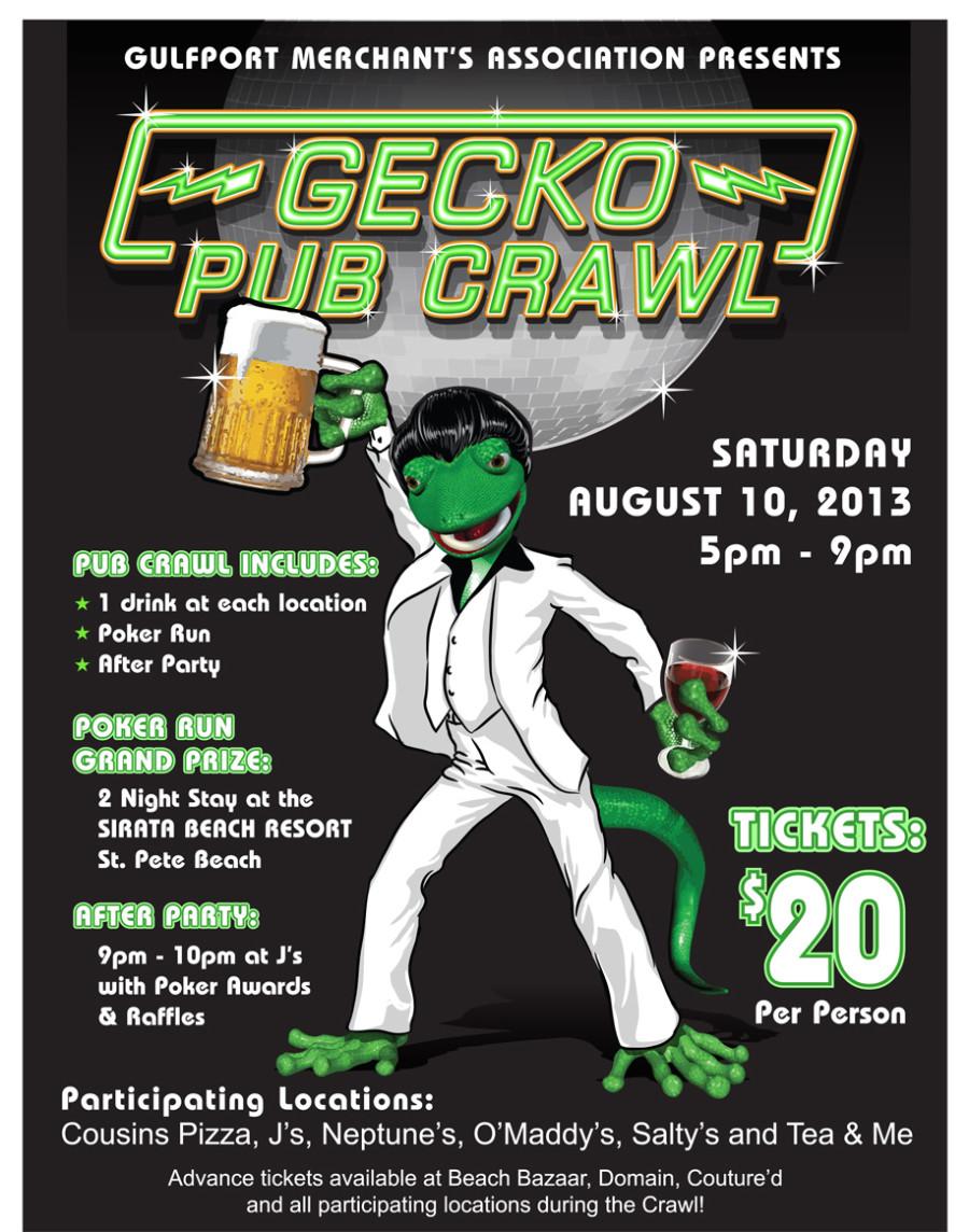 GeckoFest Pub Crawl 2013