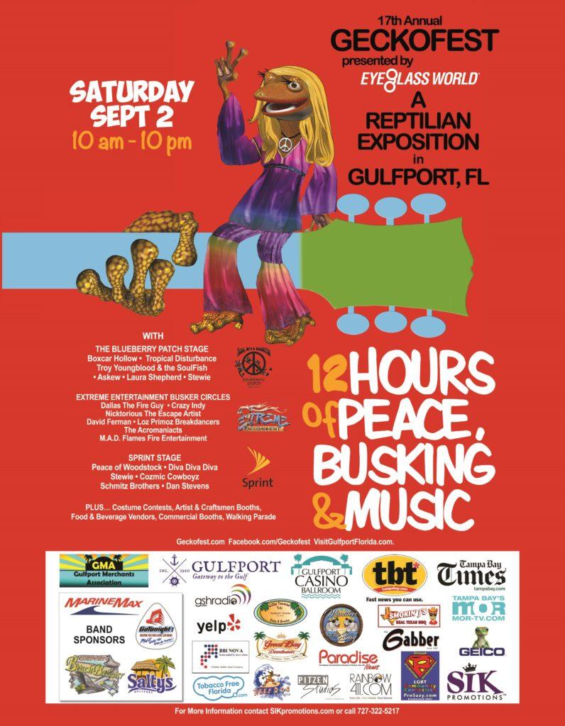 GeckoFest Poster