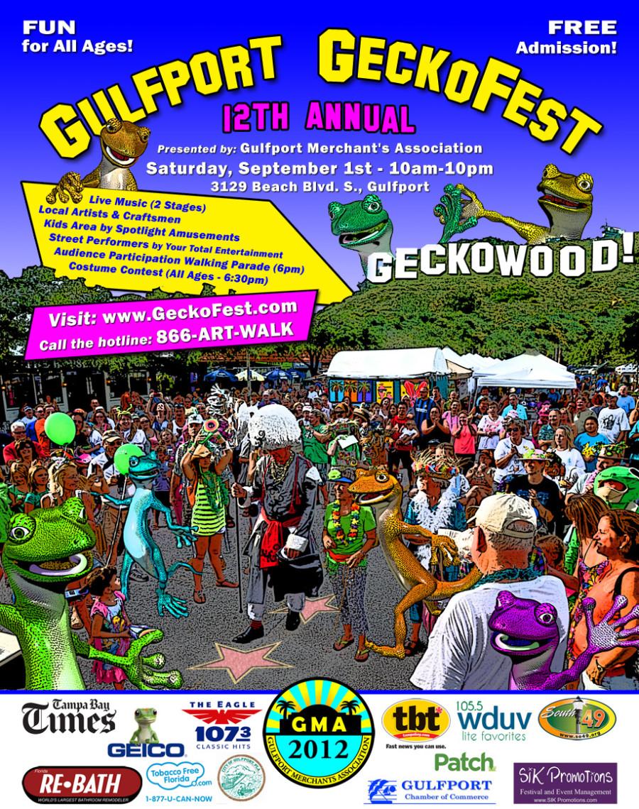 GeckoFest 2012 Flyer
