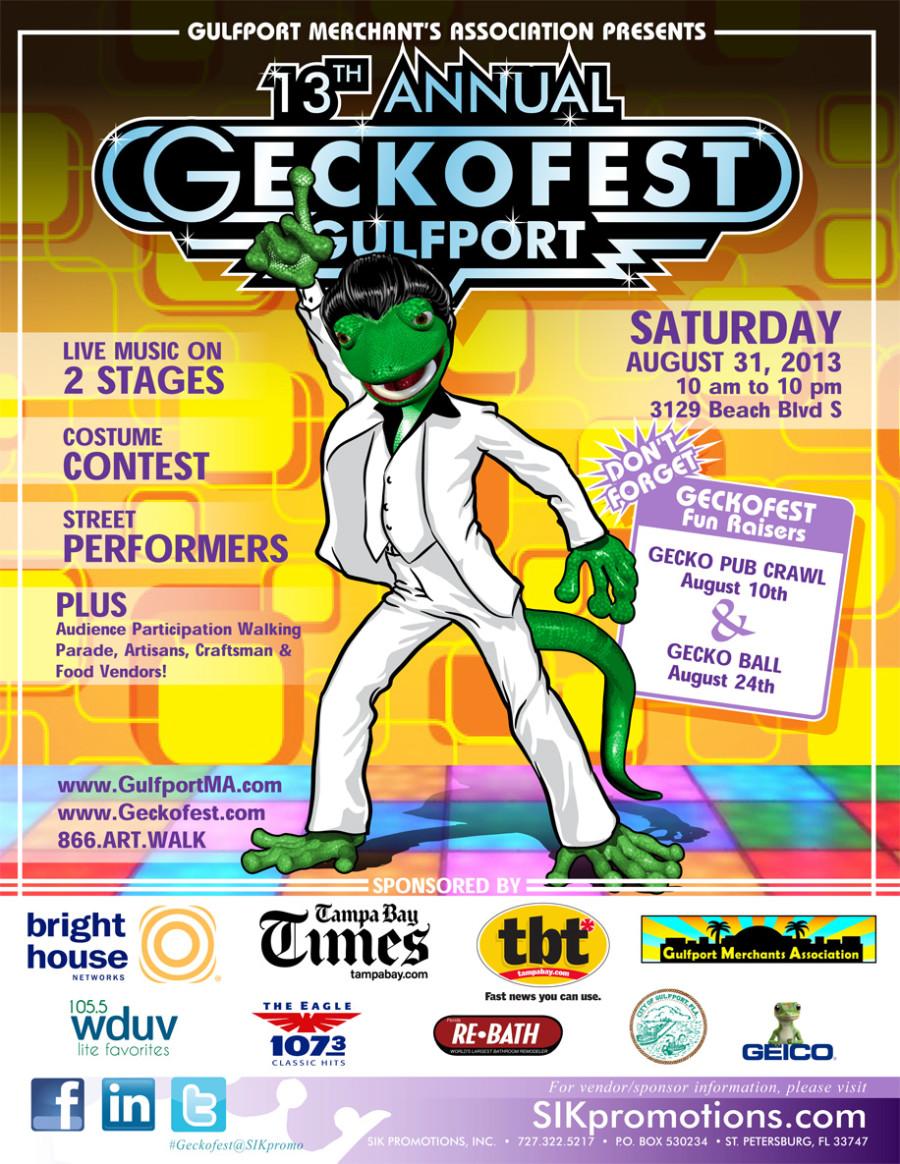 GeckoFest Flyer 2013