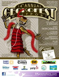 GeckoFest 2014 Flyer