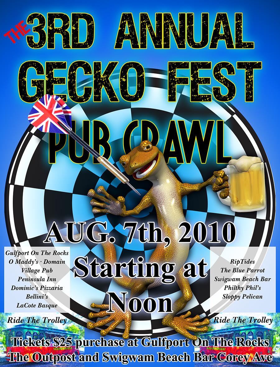 GeckoFest Pub Crawl 2010
