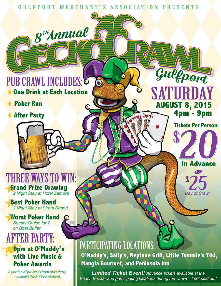 8th Annual Gecko Crawl