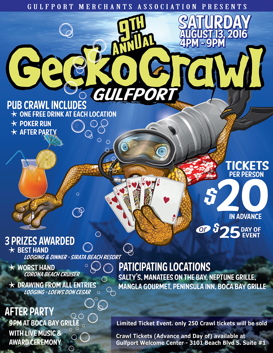 9th Annual GeckoCrawl - Pub Crawl